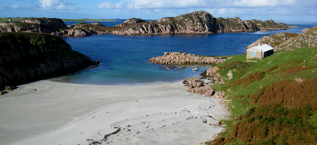 "Picturesque, secluded ""Foot of the Sea Sands"" 10 minutes walk from Fionnphort Bay"